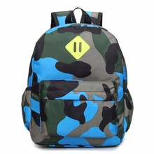 Hot Sale Classic Camouflage Printing Children's Bag Personality Backpacks Primary Kids Bags Mini School Bag Escolar(China)
