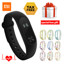 Original Xiaomi Mi Band 2 in Stock Smart Wristband Fitness Bracelet OLED Touch Pedometer Heart Rate Monitor Xiaomi band 2 band 2