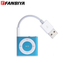 FANBIYA usb Audio Cable usb 2.0 Charger Cables for apple ipod shuffle 3rd 4th 5th 6th 45cm Jack Adapter Cord with 3.5mm aux