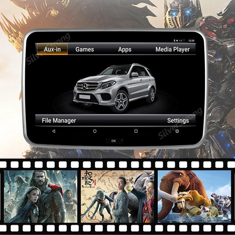 mercedes benz rear headrest android player AUDI BMW LEXUS POSCHE CHEVROLET BMW EVO CIC Passenger android entertainment tablet player (3)