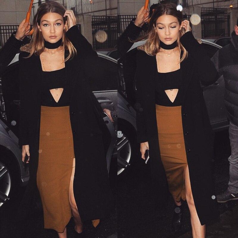 gigi-hadid-paris-mustard-fashion-week-kendall-jenner-bossa-black-bodysuit