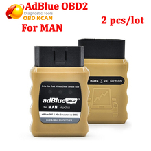 2pcs/lot New adBlueOBD2 for MAN Trucks adBlueOBD2 for MAN adBlue/DEF and NOx Emulator via OBD2 Plug and Drive Ready Device!(China)