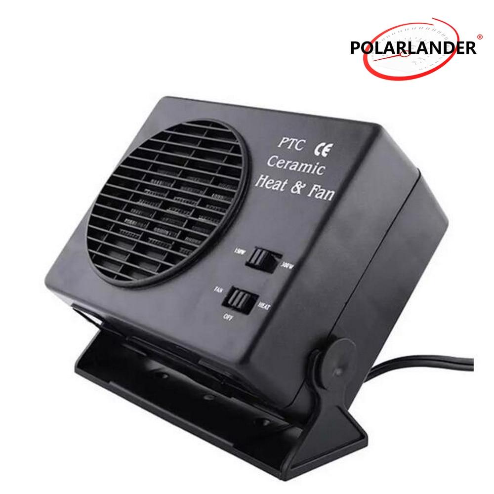 Universal Car Dash Ceramic Heating Fan 300W 500W Adjustable Heater Defroster 12V