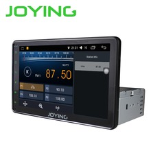 "Joying Car Stereo Autoradio GPS Navigation 1024*600 For Universal 8"" Single 1 Din Android 6.0 Quad Core 1024*600 Head Unit"