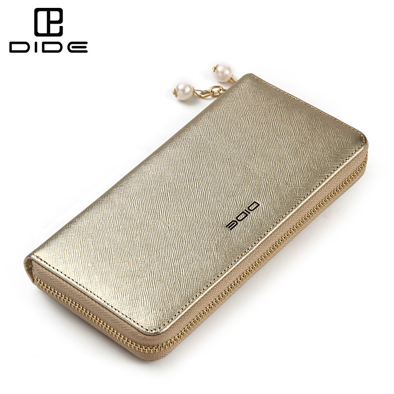 Female Wallet Genuine Leather Clutch Bag Women Long Luxury Brand Purses Cell Phone Handbags Zipper Pouch Card Holders<br><br>Aliexpress