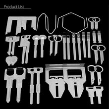 38Pcs/set Car Stereo Radio Removal Tools Key Kit For Installing and Removing Radio(China)