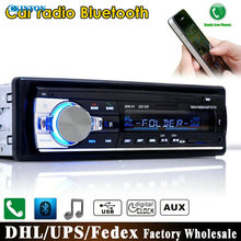 DHL/Fedex JSD-520 12V Bluetooth Car Stereo FM Radio MP3 Audio Player 5V Charger USB/SD/AUX/APE/FLAC Subwoofer In-Dash 1 DIN(China)