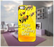 Flight Of The Honey Bee Case custom hard plastic mobile phone bag for iphone 4 4s 5 5s 5c 6 6 plus case cover shell