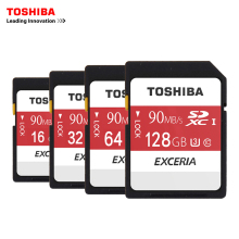 Toshiba SD Memory Card UHS U3 128Gb 90MB/s 600x 16GB 32GB SDHC Card SD 64GB SDXC Card For Digital SLR Camera Camcorder DV(11.11)(China)