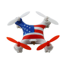 WLtoys V676 National Flag 4CH 360 Flips 2.4GHz Radio Control RC Quadcopter Drone w 6-Axis Headless Mode RTF(China)