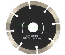 4'' 105mm Stone cutting slice dry cut diamond marble saw blade ceramic tile cutting wall slotted saw blade(China)