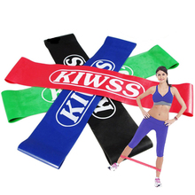 Buy 2018 Hot Gym Fitness Equipment Strength Training Latex Elastic Resistance Bands Workout Crossfit Yoga Rubber Loops Sport Pilates for $1.00 in AliExpress store