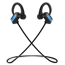 IPUDIS Sport Bluetooth Earphone Hook IPX5 Waterproof Wireless Headphone Earhook Work Out Headset with Microphone 110mAh(China)
