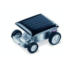 1pcs Smallest Mini Car Solar Power Toy Car Racer Educational Gadget Children Novelty sunshine toys Education toys Kid's Toys
