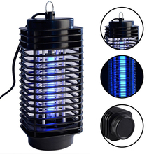 Modern High Quality Mosquito Insect Killer Lamp Electric Pest Reject Control Moth Wasp Fly Garden Bug Zapper US/EU/UK Plug(China)