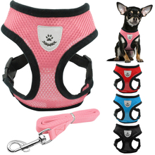 1pc Adjustable Nylon Dog Harness Collors set for small dog Bichon Pet dog Accessories Dog Lead Supplies Pet Products shop