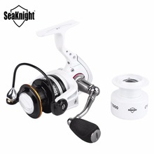 SeaKnight CM 2000 Spinning Fishing Reel 14BB 5.2:1 7.5KG Max Drag Wheel 310g Carbon Fiber Carp Fishing Tackle & Free Spare Spool