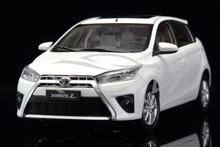 Diecast Car Model Toyota Yaris 1:18 (White) + SMALL GIFT!!!!
