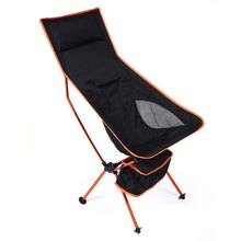 Unique Detachable Camping Table Aluminium Alloy Breathable7050 Extended Chair Folding Fishing Chair For Outdoor Activities(China)