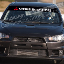 For MITSUBISHI MOTORS Windshield Decal Sticker PVC