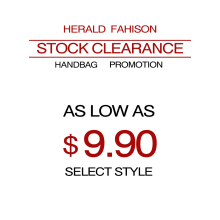 Herald Fashion Stock Clearance Women Handbag Super Promotions Top-Handle Bag Totes as Low as $9.99(China)