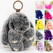 15CM cute play dead rabbit plush animals toy small pendant for kids birthday gift