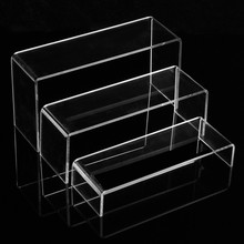 3 Tier Clear Acrylic Display Stand New Multi-functional Shoe Storage Rack Shoe Display Racks Watch Cosmetics Display Holder