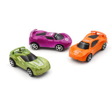 Child Kids plastic Toy Pull Back Model Car Educational Toy Nice Birthday Gift(China)