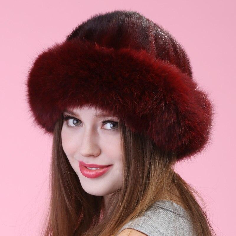 autumn winter Super warm snow show women genuine rex mink fur muffs Russian style cap lady luxur fur hat hair lovely furОдежда и ак�е��уары<br><br><br>Aliexpress