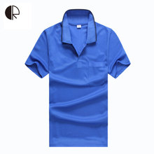 Brand Mens Tshirt Solid 2016 Casual Short Sleeve T-Shirts Jerseys Lapel Men Shirt Plus Size MT1146(China)