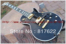 Wholesale - New Style 50th Anniversary 1960 LP Custom  Ebony fretboard with binding electric guitar free shipping