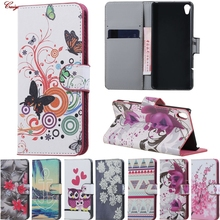Buy Case Sony Xperia X F5122 Phone Cases F512 Flip leather Cases Cover fundas Sony X X Dual X1 wallet cases bags Xperia X for $4.41 in AliExpress store