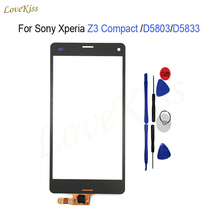 "Buy 4.6"" Touch Screen Digitizer Panel Sony Xperia Z3 Compact Mini D5803 D5833 M55W Touchscreen Front Glass Lens Replacement for $5.90 in AliExpress store"