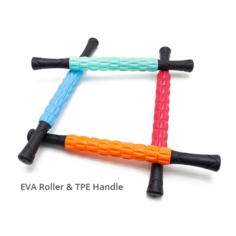 Muscle Roller Stick Massage Bar Relief Muscle Soreness Cramping & Tightness Help Leg & Back Recovery Muscle Pain Management