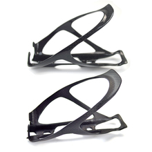 2PCS Bicycle Cycling full Carbon Fibre Color Mountain Road Bike Water Bottle Holder Cages 3k carbon matte(China)