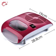 110W Hot & Cold Air Nail Dryer/Blower Manicure for Drying Nail Polish & Acrylic Beauty Red Color 220V/110V EU Tool Fan