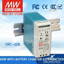 MEAN WELL DRC-60B 27.6V meanwell DRC-60 59.34W Single Output with Battery Charger (UPS Function) [Hot6]
