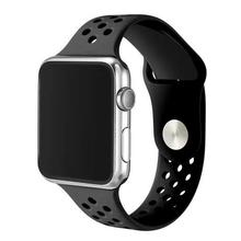Nice Silicone sport hole strap band For Apple Watch 42mm 38 Series 2 DALAN