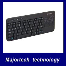 Original  Logitech K400R Wireless 2.4G Touch Keyboard  for PC Laptop Computer