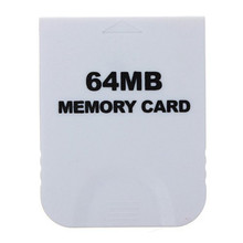 64 MB Memory Card For Nintendo Wii Console White 64M Memory Storage Card Save Saver For GameCube Free Shipping(China)
