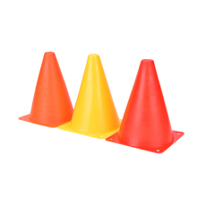 Wholesale 6 PCS Football Marker Cones Course Football Cones Soccer Sports Field Drill Markers 7""