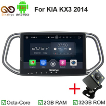"10.1"" octa core RAM 2G Android6.0 car dvd player for KIA KX3 2014 with 4G WIFI Bluetooth IPOD TV USB Stereo Radio USB DVR AUX IN(China)"