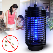 US/UK 220V Electric Photocatalyst Mosquito Fly Bug Insect Zapper Killer For Pest Control With Trap Lamp Practical Eco-Friendly