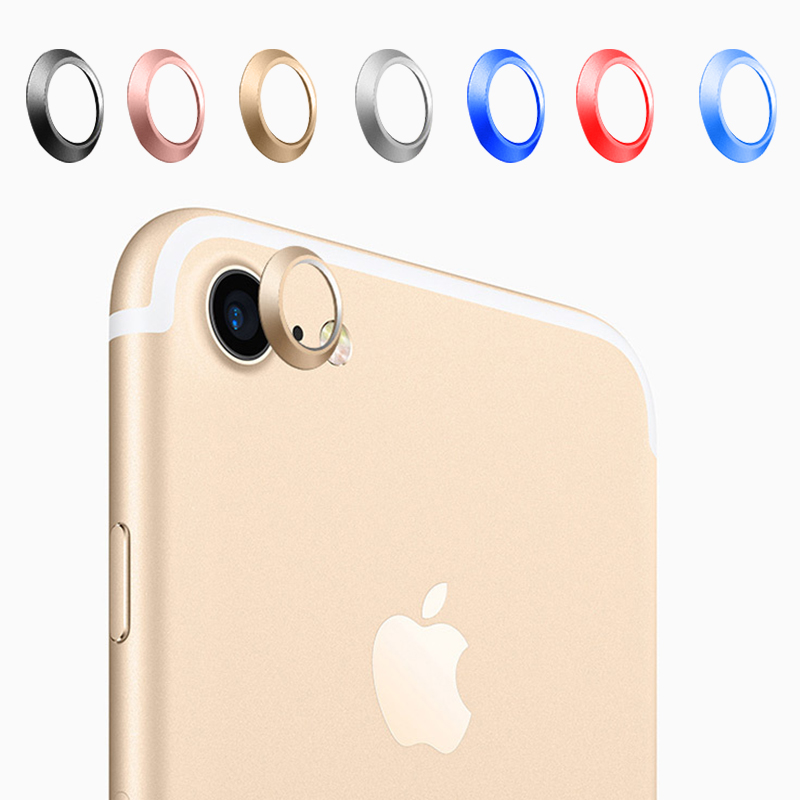 Rear Camera Lens Protective Ring Cover Protector Protection 4.7inch For iPhone 7 2016 Metal Case Luxury Mobile Phone Accessori(China (Mainland))