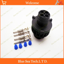 Sample,2 sets 4 Pin AMP/TE 1-967402-1 Auto Sensor plug for Car,oil exploration,railway etc,Waterproof IP67/69,Round connector