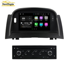 NAVITOPIA 8Inch 1G/2G RAM Android 5.1/7.1 Car DVD Multimedia Player for Renault Megane II 2004-2009 Auto Radio Stereo GPS(China)