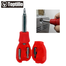 Toptillo Granade Screwdriver Tool Set 6 Piece Precision Repair Phones Bits Power Bit with Slotted, Phillips Novelty Gift !