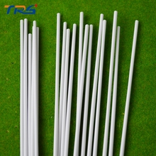 100pcs/lot dia 1.5mm ABS round rod DIY manual construction sand table model of ABS solid sticks(China)