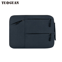 TUGUAN Fashion Business Men/Women Waterproof Laptop Bags Portable Computer Case Notebook Bag Air Pro By 14/15 Inches Briefcases