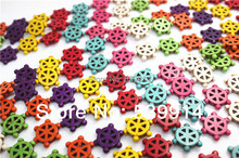 18mm Mix Color Synthetic Loose Stone Jewelry Steering wheel Beads for DIY Jewelry Findings(China)
